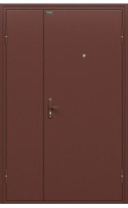 Входная дверь Дуо Слим, цвет Антик Медь/Антик Медь