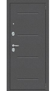 Входная дверь Porta S 104.П61, цвет Антик Серебро/Wenge Veralinga