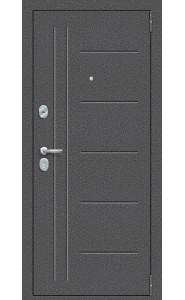 Входная дверь Porta S 109.П29, цвет Антик Серебро/Bianco Veralinga
