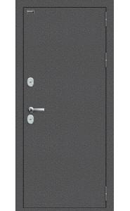 Входная дверь Bravo T 100.П50 (IMP-6), цвет Антик Серебро/Cappuccino Veralinga