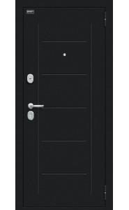 Входная дверь Пик 117.С14, цвет Букле черное/Dark Barnwood