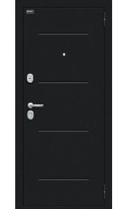 Входная дверь Мило 104.52, цвет Букле черное/Bianco Veralinga