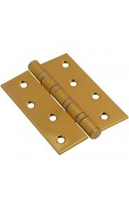 Петля дверная 100*70*2,5, цвет PB Золото