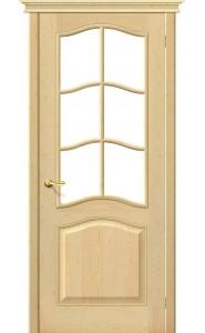 Межкомнатная дверь М7 (без стекла), со стеклом, цвет Без отделки