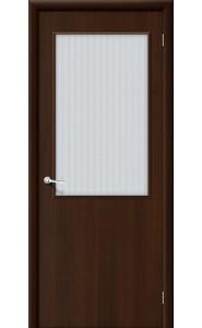 Межкомнатная дверь Гост ПО-2, со стеклом, цвет Венге