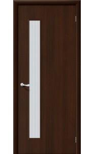 Межкомнатная дверь Гост ПО-1, со стеклом, цвет Венге