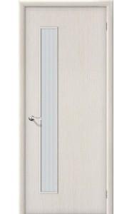 Межкомнатная дверь Гост ПО-1, со стеклом, цвет БелДуб