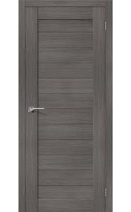 Межкомнатная дверь Порта-21, цвет Grey Veralinga