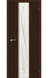 Межкомнатная дверь Глейс-2 Twig, цвет 3D Wenge