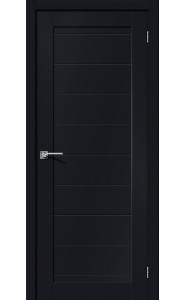 Межкомнатная дверь Браво-21, цвет Black Mix