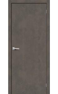 Межкомнатная дверь Браво-0, цвет Brut Beton
