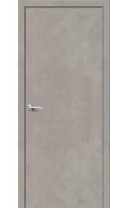 Межкомнатная дверь Браво-0, цвет Gris Beton
