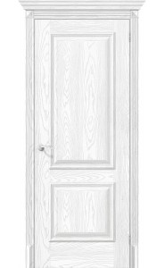 Межкомнатная дверь Классико-12, цвет Silver Ash