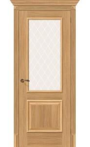 Межкомнатная дверь Классико-13, со стеклом, цвет Anegri Veralinga