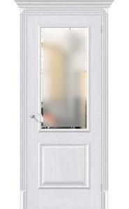 Межкомнатная дверь Классико-13, со стеклом, цвет Milk Oak