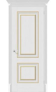 Межкомнатная дверь Классико-32G-27, цвет Virgin