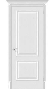 Межкомнатная дверь Классико-12, цвет Virgin