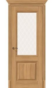 Межкомнатная дверь Классико-33, со стеклом, цвет Anegri Veralinga