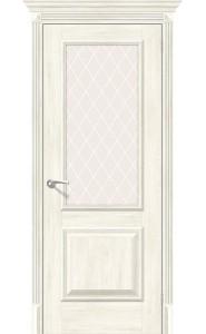 Межкомнатная дверь Классико-13, со стеклом, цвет Nordic Oak