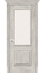 Межкомнатная дверь Классико-13, со стеклом, цвет Chalet Provence