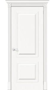 Межкомнатная дверь Вуд Классик-12, цвет Whitey