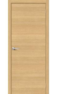Межкомнатная дверь Вуд Флэт-0.H, цвет Just Oak