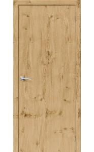Межкомнатная дверь Вуд Флэт-0.V, цвет Barn Oak