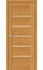 Межкомнатная дверь Вуд Модерн-22, со стеклом, цвет Natur Oak