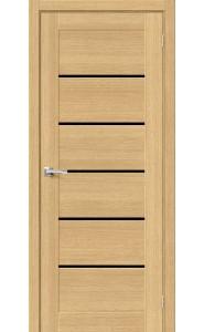 Межкомнатная дверь Вуд Модерн-22, со стеклом, цвет Just Oak