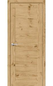 Межкомнатная дверь Вуд Модерн-21, цвет Barn Oak