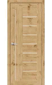 Межкомнатная дверь Вуд Модерн-29, со стеклом, цвет Barn Oak