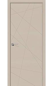 Межкомнатная дверь Вуд Арт-5.H, цвет Latte