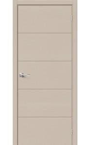Межкомнатная дверь Вуд Арт-1.H, цвет Latte