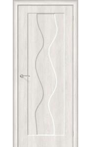 Межкомнатная дверь Вираж-1, цвет Casablanca