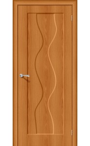 Межкомнатная дверь Вираж-1, цвет Milano Vero