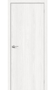 Межкомнатная дверь Браво-0, цвет WhiteDreamline
