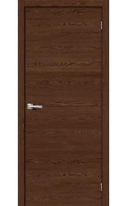 Межкомнатная дверь Браво-0, цвет Brown Skyline