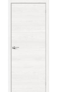 Межкомнатная дверь Браво-0, цвет White Skyline