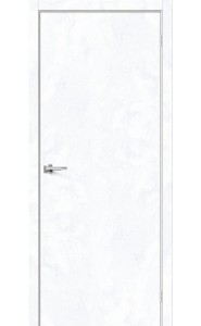 Межкомнатная дверь Браво-0, цвет Snow Art