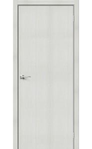 Межкомнатная дверь Браво-0, цвет Bianco Veralinga