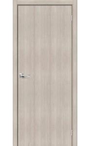 Межкомнатная дверь Браво-0, цвет Cappuccino Veralinga