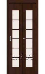 Дверь складные 2С, Л-13 (Венге)