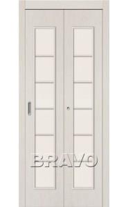 Дверь складные 2С, Л-21 (БелДуб)