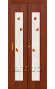 Дверь книжка 22Х, Л-11 (ИталОрех)