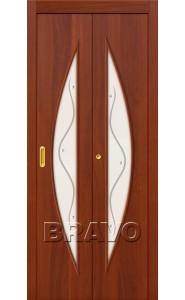 Дверь книжка 5Ф, Л-11 (ИталОрех)