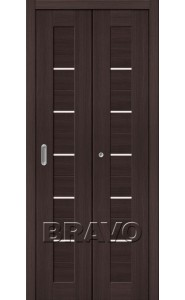 Дверь складные Порта-22, Wenge Veralinga