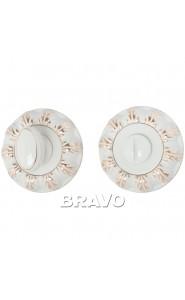 Bravo A/Z-3WC, WG БелЭмаль/Золото