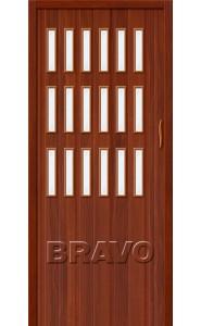 Раздвижная пластиковая дверь Браво-018, ИталОрех
