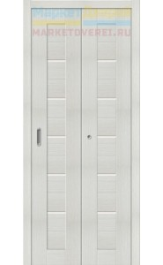 Дверь складные Порта-22, Bianco Veralinga