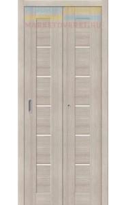 Дверь складные Порта-22, Cappuccino Veralinga